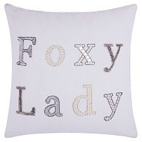 Mina Victory Lumin ''Foxy Lady'' Throw Pillow