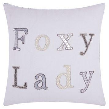 Mina Victory Lumin ''Foxy Lady'' Throw Pillow