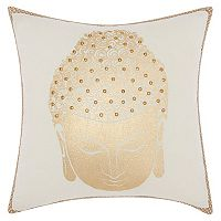 Mina Victory Lumin Buddha Swirl Throw Pillow
