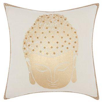 Mina Victory Lumin Buddha Swirl Throw Pillow