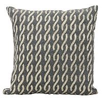 Mina Victory Lumin Beaded Infinities Throw Pillow