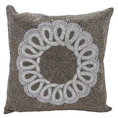 Mina Victory Lumin Infinity Center Scroll Throw Pillow
