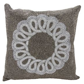 Mina Victory Lumin Infinity Center Scroll Throw Pillow