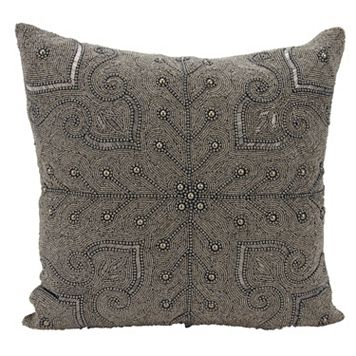 Mina Victory Lumin Persian Scroll Throw Pillow