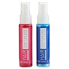 Girls 4-16 2 pkSpray-In Hair Color Set