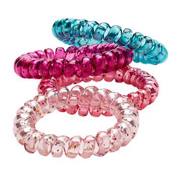 Girls 4-16 4-pk. Spiral Hair Bands