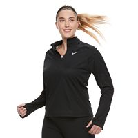 Plus Size Nike Dry 1/2-Zip Running Top