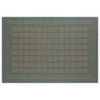 Art Carpet Plymouth Basket Framed Geometric Indoor Outdoor Rug