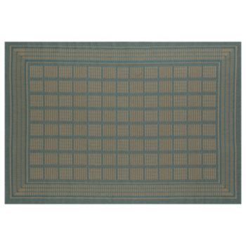 Art Carpet Plymouth Basket Framed Geometric Indoor Outdoor Rug