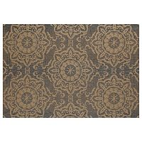 Art Carpet Plymouth Refreshing Medallion Indoor Outdoor Rug