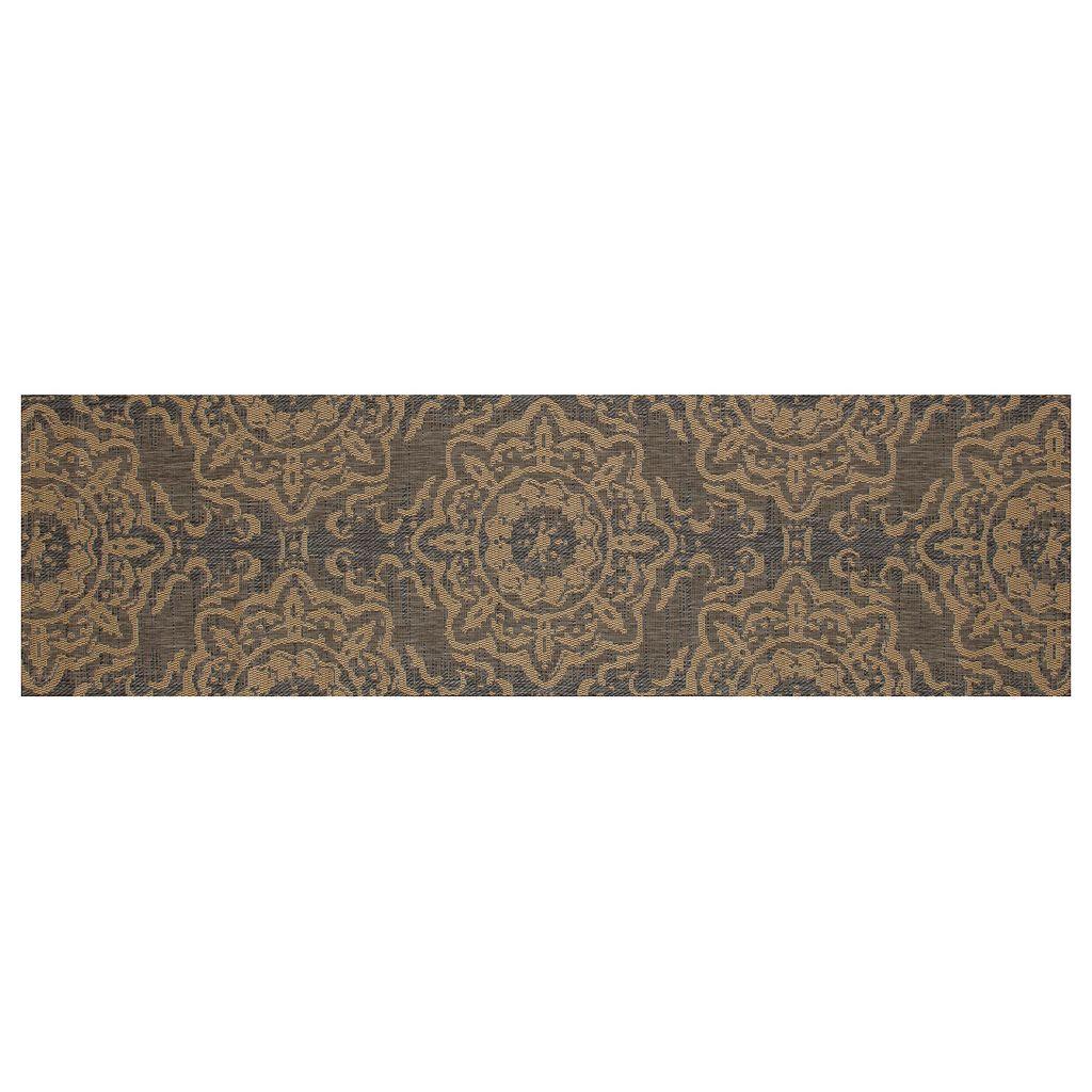 Art Carpet Plymouth Refreshing Medallion Indoor Outdoor Rug
