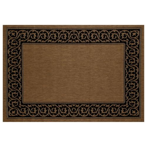 Art Carpet Plymouth Intention Framed Scroll Indoor Outdoor Rug