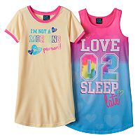 Girls 4-16 Jellifish Nightgown Pajama Set