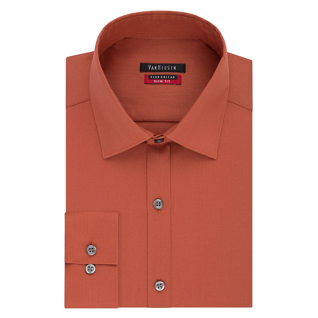 Men's Van Heusen Slim-Fit Pincord Dress Shirt
