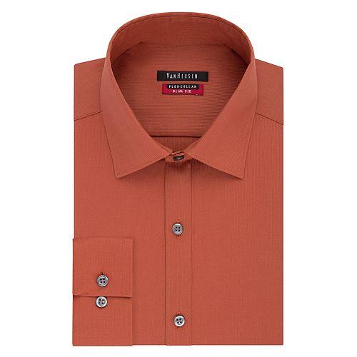Men's Van Heusen Slim-Fit Pincord Dress Shirt