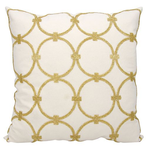 Mina Victory Lumin Circles Throw Pillow