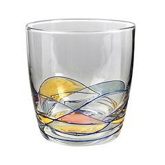 Artland Helios 4 pc Double Old-Fashioned Glass Set