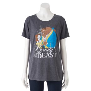 Disney's Beauty and the Beast Juniors' Classic Graphic Tee