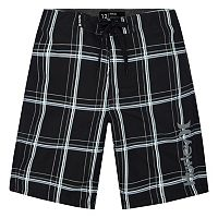 Boys 4-7 Puerto Rico Hurley Plaid Board Shorts