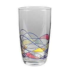 Artland Helios 4 pc Highball Glass Set
