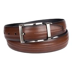 Men's Croft & Barrow® Feather Edge With Center Stitch Belt