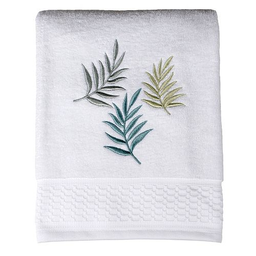 Maui Embroidered Bath Towel
