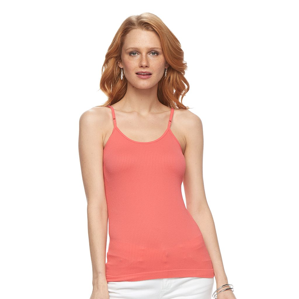 Women's Apt. 9® Seamless Ribbed Camisole