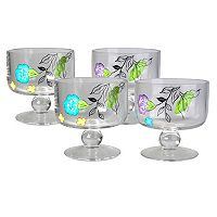 Artland Samantha 4-pc. Coupe Bowl Set