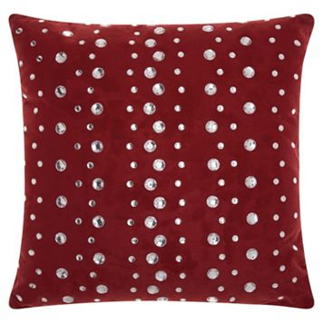 Mina Victory Lumin Raindrops Throw Pillow