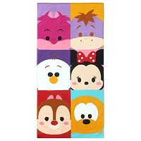 Disney Tsum Tsum Peek-A-Boo Printed Beach Towel