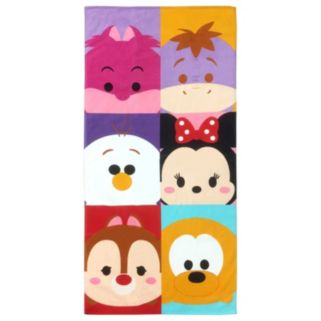 Disney Tsum Tsum Peek-A-Boo Printed Beach Towel