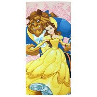 Disney Beauty and the Beast Kind At Heart Printed Beach Towel