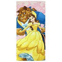 Disney Beauty and the Beast Kind At Heart Printed Beach Towel
