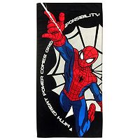 Marvel Comics Spider-Man Spidey Power Printed Beach Towel