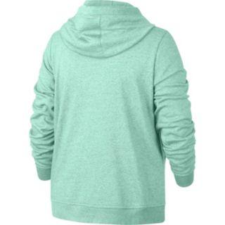 Plus Size Nike Cowlneck Hoodie