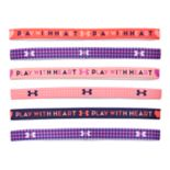 "Girls 4-16 Under Armour 6-pk. ""Girl Boss"" Logo Mini Headbands"