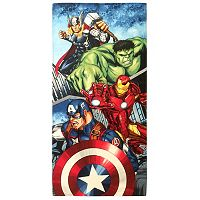 Marvel Avengers Avengers Team Printed Beach Towel