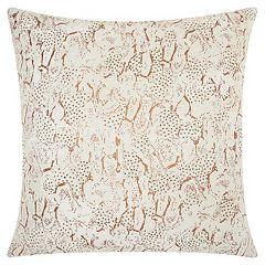 Mina Victory Lumin Beaded Animal Print Throw Pillow