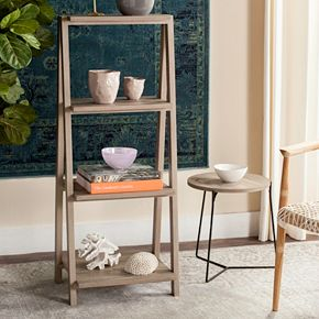Safavieh Rustic Ladder 3-Tier Bookshelf