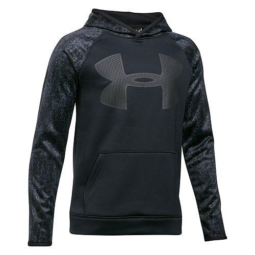boys 8 20 under armour logo performance hoodie