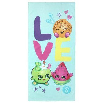 Moose Toys Shopkins Love Printed Beach Towel