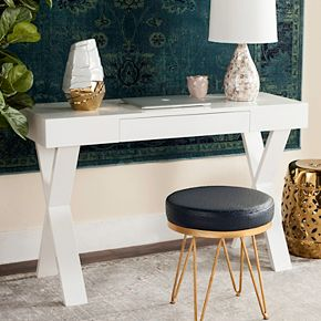 Safavieh Contemporary White Desk