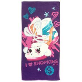 "Moose Toys Shopkins ""Sneaky"" Printed Beach Towel"