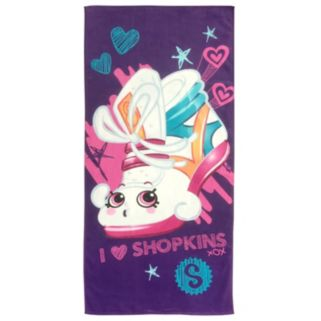 "Moose Toys Shopkins ""Sneaky"" Printed Beach Towel"