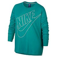 Plus Size Nike Sportswear Long-Sleeve Top