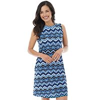 Women's AB Studio Print Shift Dress