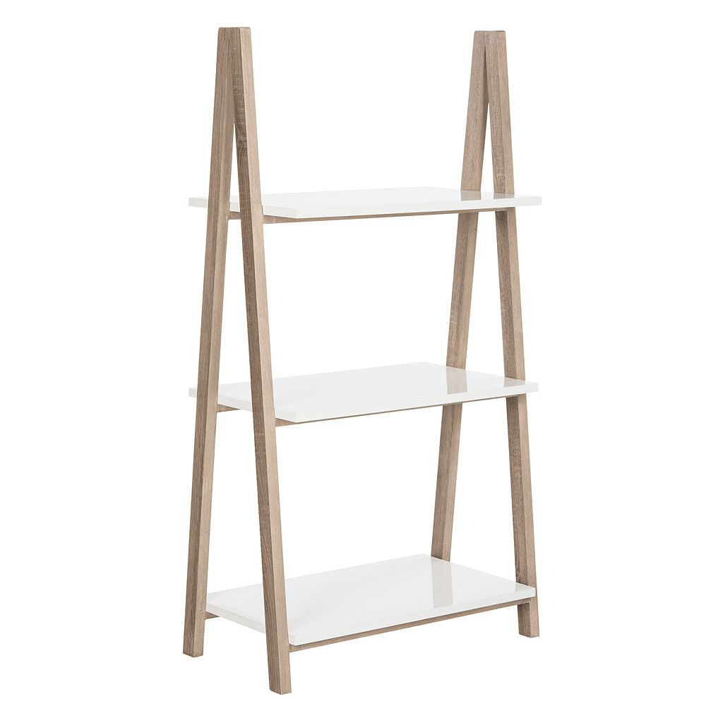 Safavieh Contemporary Scandinavian 3-Tier Bookshelf