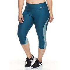 Plus Size Nike Power Training Capri Leggings