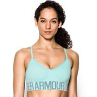 Under Armour Bras: Seamless Solid Low-Impact Sports Bra 1275923