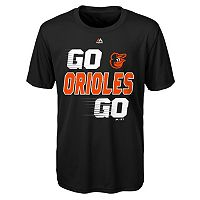 Boys 8-20 Majestic Baltimore Orioles Double Header Cool Base Tee